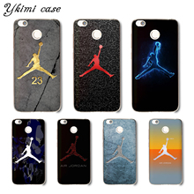 Ykimi case Fashion No. 23 Jordan Cover For Xiaomi Redmi 5 plus 5a 6 pro 6a 4x 4a note 4 4x 5 pro 5a 6 case soft Silicone TPU