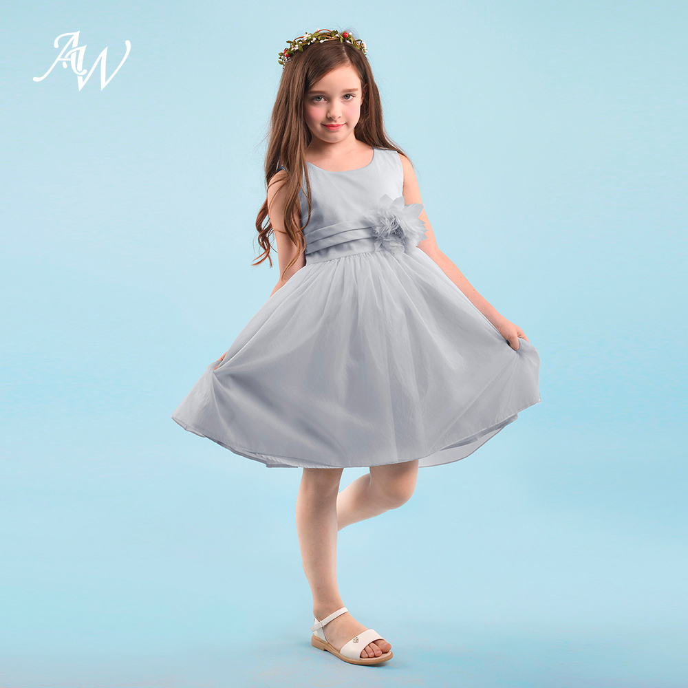 Aliexpress.com : Buy AW Flower Girl Dress Formal Princess Pageant ...