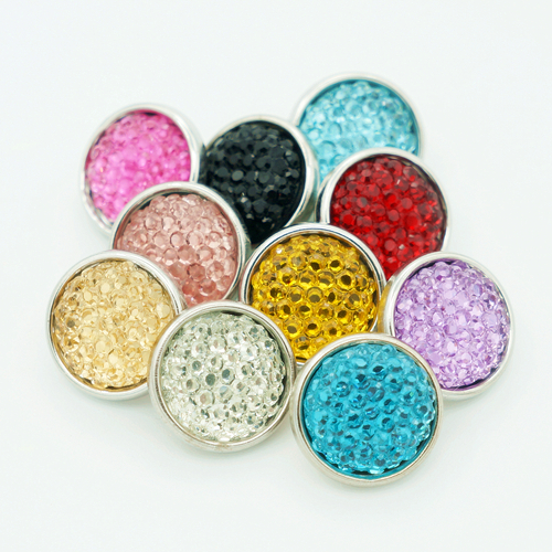 Hot sale NS5004 Mixed 10pcs <font><b>12mm</b></font> Colorful Uneven Beauty <font><b>snap</b></font> <font><b>buttons</b></font> fit DIY <font><b>snap</b></font> bracelet <font><b>Jewelry</b></font> wholesale image