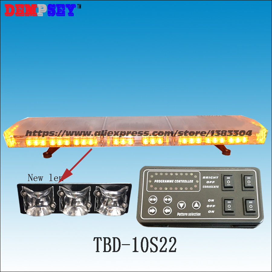 TBD-10S22 LED Emergency Warning Lightbar,Waterproof,New Len,Ambulance/fire truck/police /vehicle,Roof strobe warning lightbar