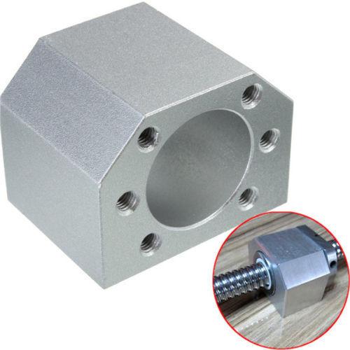 DE nave SFU1605 Ballscrew-L300mm/500mm/600mm/800mm/1050mm extremo mecanizado BK/BF12 y BK/BF12 apoyo y tuerca DE vivienda para el Router CNC - 6
