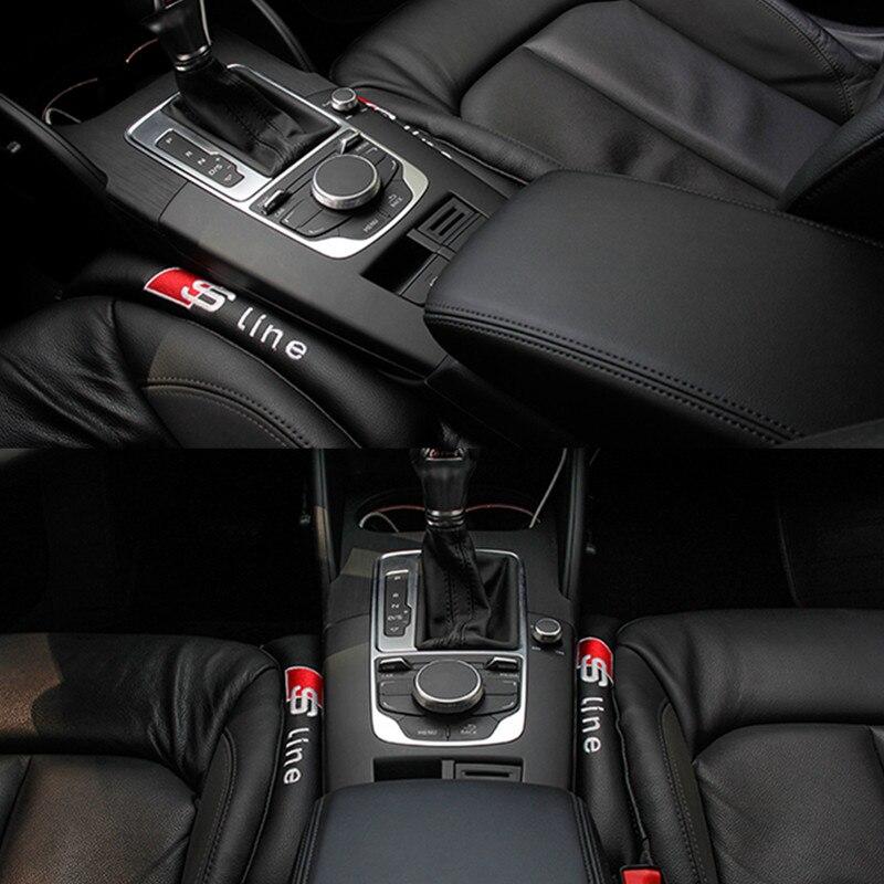 2PCS Seat Gap Filler Soft Pad Padding Spacer For Audi A4 B5 B6 B7 B8 A6 C5 A5 TT Q3 Q5 Q7 80 100 A1 A2 A7 A3 8P 8V S LINE SLINE 2pcs led logo door courtesy projector shadow light for audi a3 a4 b5 b6 b7 b8 a6 c5 c6 q5 a5 tt q7 a4l 80 a1 a7 r8 a6l q3 a8 a8l