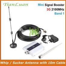 TianLuan 3G W CDMA 2100 MHz amplificateur de Signal de téléphone portable 3G 2100 MHz UMTS répéteur de Signal amplificateur WCDMA avec antenne
