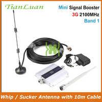 TianLuan 3G W-CDMA 2100 MHz Segnale Del Telefono Mobile Del Ripetitore 3G 2100 MHz UMTS Ripetitore di Segnale Del Telefono Cellulare WCDMA amplificatore con Antenna