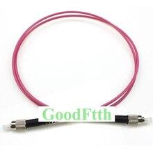 Cordons de raccordement à fibres optiques FC FC OM4 Simplex GoodFtth 1 15m