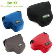 Draagbare Beschermende Neopreen Soft Inner case cover camera tas voor YI M1 met 12 40mm Lens Alleen Mirrorless digitale Camera