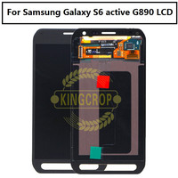 100% Tested 5.1'' Replacement For Samsung Galaxy S6 active G890 G890A LCD Display+Touch Screen Digitizer Assembly