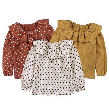 Baby Girl Tops - Ruffle and Polka Dots