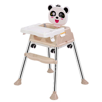 Baby High Chair Booster Seat Baby Chair Portable Infant Seat Multifunction Adjustable Folding Chairs For Children