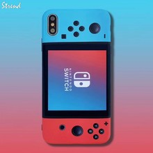 Game console SWITCH Remote Control Handle Phone Case For Apple iPhone 11 Pro Max 7 8 6 6s Plus X XS Xr Gamepad IMD Cover Fundas(China)