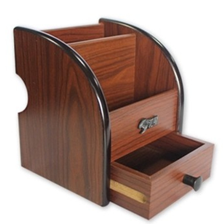 wood craft new arrival high grade wooden pen hol cheap office storage