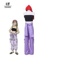 Japoński Anime Fullmetal Alchemist ROLECOS Winry Rockbell Brotherhood Cosplay Kostiumy Cosplay Kostiumy Biustonosz Spodnie i Nakrycia Głowy