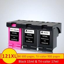 XiangYu 121XL Замена заправленных чернил для hp 121 XL картридж для Deskjet D2563 F4213 F4275 F4583