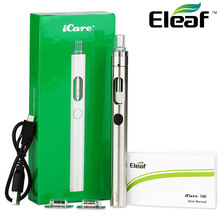 100% Original Eleaf ICare 160 Kit 1500mah 15W Max 3.5ml Tank W/1.1ohm IC Coil Head Icare Vaping Kit Vs Eleaf Ijust 2 Kit