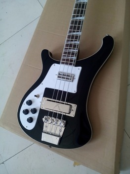 Electric bass left-handed /2018 black alien bass / bass from China..