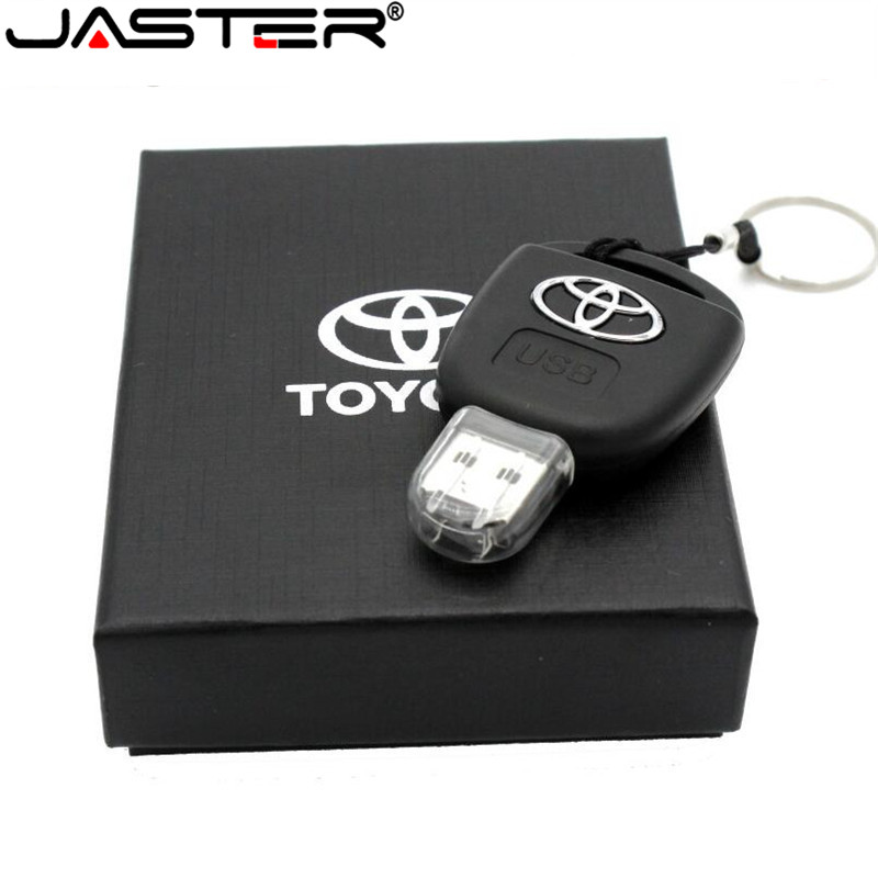 JASTER Car Key Model Creative fashion gift  USB Flash drive pen drive memory stick usb 2 0 64GB 32GB 16GB 8GB memory U disk