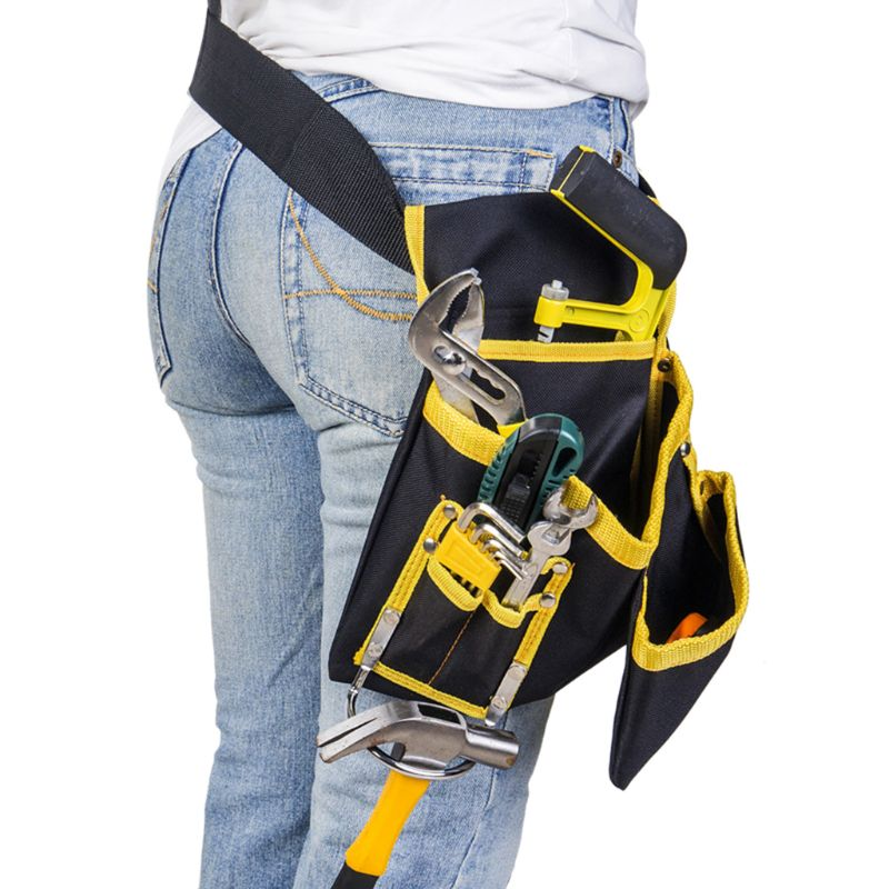 Multi-functional Electrician Tools Bag Waist Pouch Belt Storage Holder Organizer free ship 13