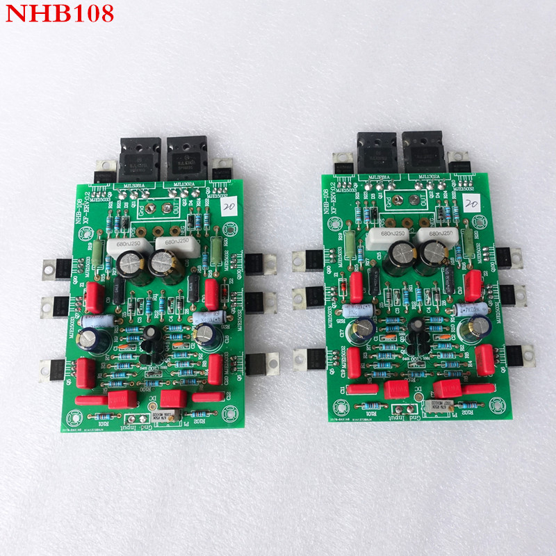 weiliang audio Imitate dartzeel NHB108 amplifier board  2PCS
