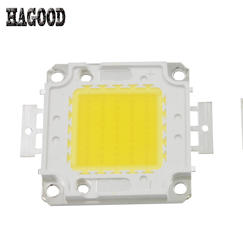 on sale Free Shipping 50W 4000-4500LM High Power LED chip LED IC SMD Lamp Light White Blue Green White Yellow .Warm White high power 100w 9000lm led chip led bulb ic smd lamp light blue green white yellow warm white one power supply driver