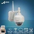Novo! 1080 P HD H.264 2.0 Megapixel Onvif 22 IR Pan Tilt PT Câmera Dome Rede IP Sem Fio WI-FI Ao Ar Livre Câmera de CCTV 2MP