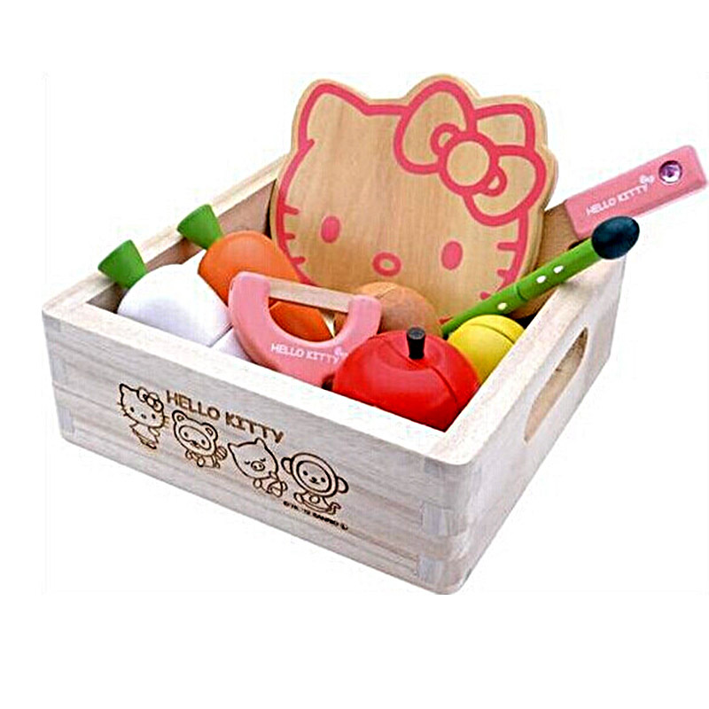 Hello Kitty Kitchen Accessories: Popular Wooden Fruit Toys-Buy Cheap Wooden Fruit Toys Lots