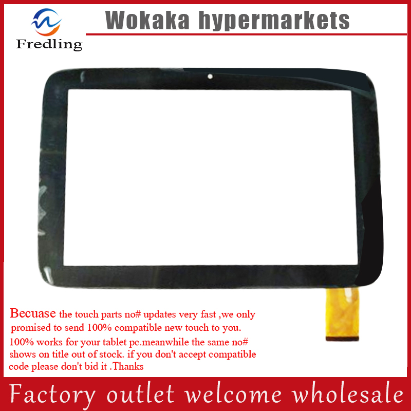 New Capacitive Touch Screen Panel Digitizer Glass Sensor Replacement For Clementoni Clempad Pro 6.0 10 Tablet free Shipping
