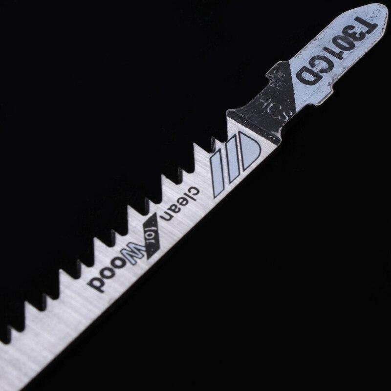 5 шт. T301CD HCS 116 мм Т-хвостовик джиг Пилы лезвия чистой для древесины быстро Резка
