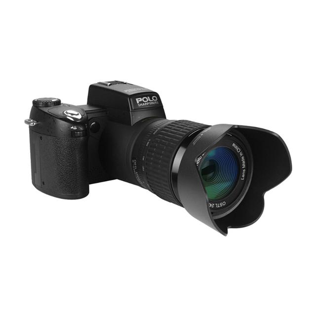 2018 HD JOZQA POLO D7300 Digital Camera 33Million Pixel Auto Focus Professional SLR Video Camera 24X Optical Zoom 3 HD Lens