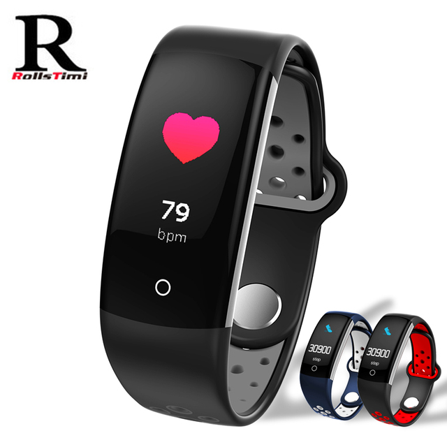 RollsTimi Smart Watch With Heart Rate Monitor Pedometer Sleep Fitness Tracker Sm