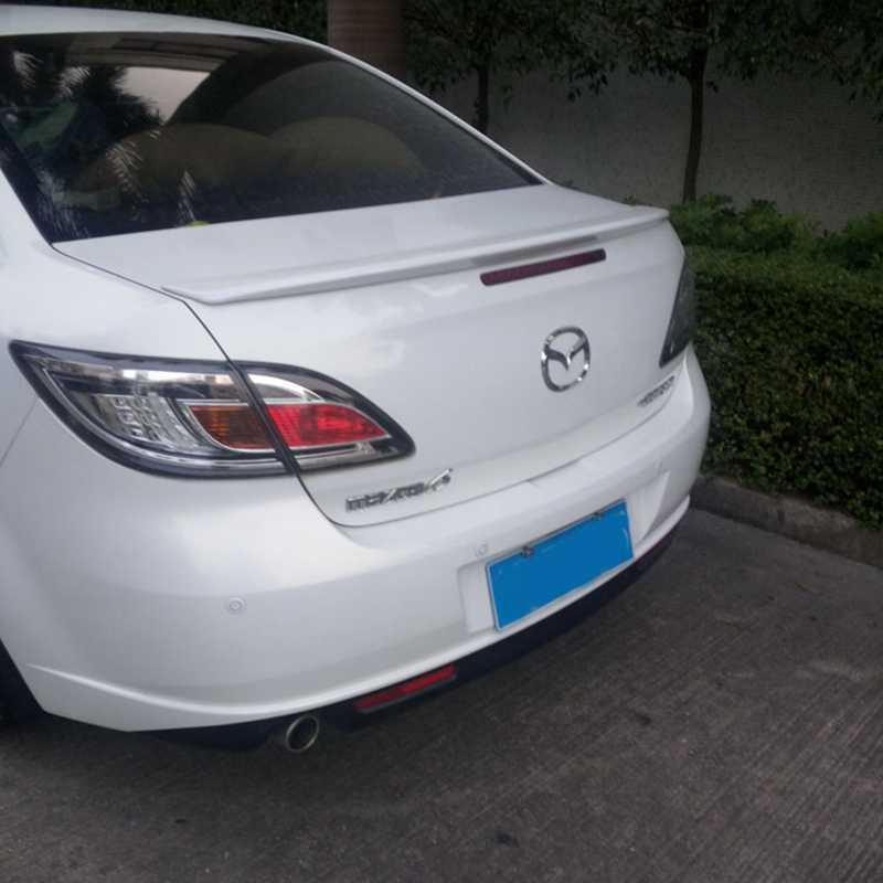 Voor Mazda 6 Spoiler Hoge Kwaliteit ABS Materiaal Auto Achtervleugel Primer Kleur Spoiler Voor Mazda 6 Spoiler 2009-2014