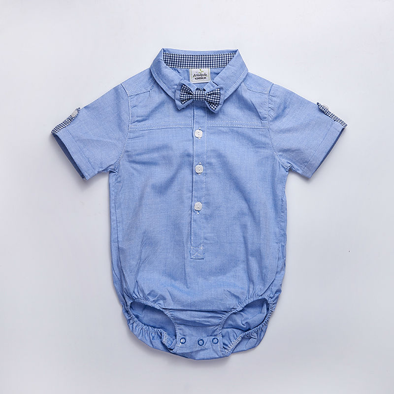 Baby-clothes-2017-summer-baby-Kids-newborn-outfit-baby-Boy-short-sleeve-baby-formal-shirt-Vestidos-Meninas-Roupas-Bebes-3