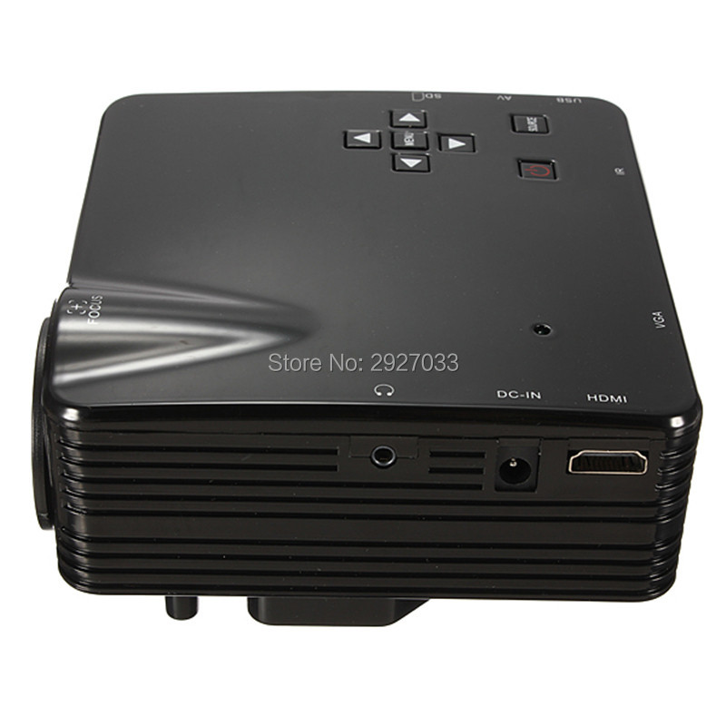 Wholesale mini home theater projector inputs av vga usb for Pocket projector hdmi input
