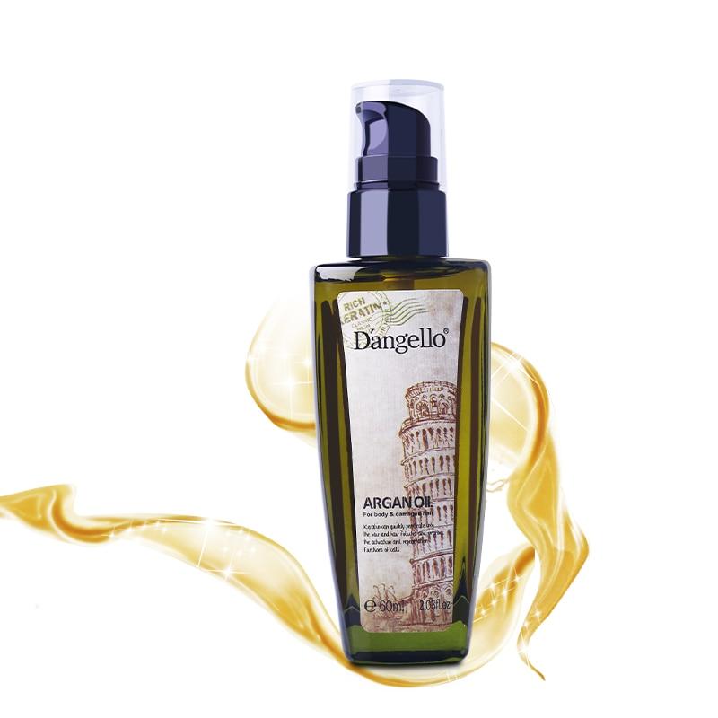 Hair Care Argan Oil Pre-perm Dry Hair Repair Keratin Straightening Shine Beauty Hair Scalp Nail Treatment D'angello Nut Oil 60ml yamaha valve oil light 60ml 03u