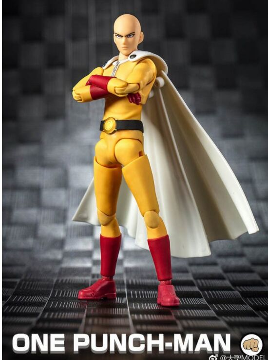 in stock GREAT TOYS Dasin anime ONE PUNCH MAN Saitama action figure GT model toy 1