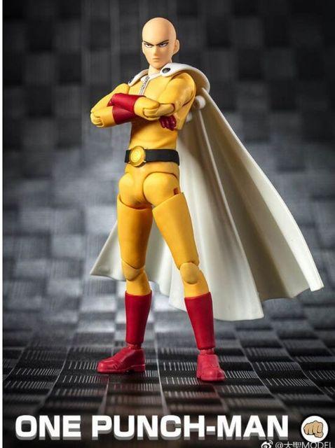 Grands jouets Dasin jouet animé ONE PUNCH MAN Saitama figurine daction GT, en stock, modèle 1/12
