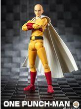 В наличии отличные игрушки дазин Аниме ONE PUNCH MAN Сайтама экшн фигурка GT Модель игрушка 1/12