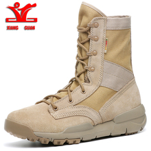 XIANGGUAN 2018 men Sports Tactical Boots Outdoor High top Hi