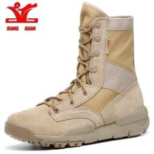 XIANGGUAN 2018 men Sports Tactical Boots Outdoor High top Hi