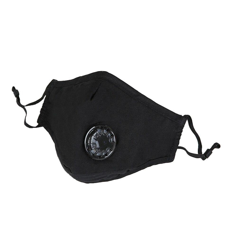 Gelernt Heißer Maske Unisex Anti-staub Gesicht Masken Baumwolle Waschbar Atemschutz Atmen Maske Mit Verstellbaren Trägern 3440 #2 ##418 Masken
