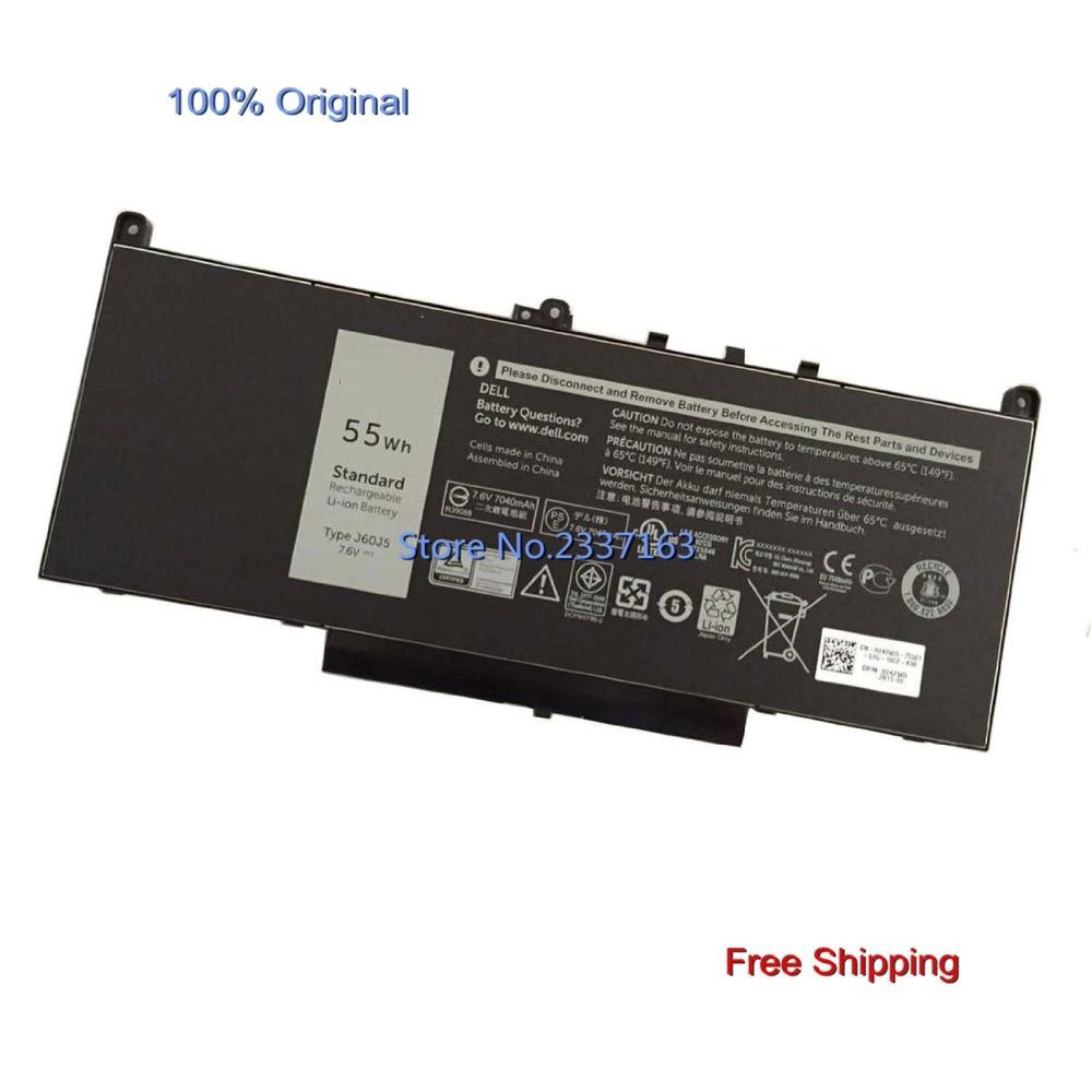 IECWANX 100% new Laptop Battery J60J5 (55Wh 7.6V) for DELL TYPE J60J5 Series