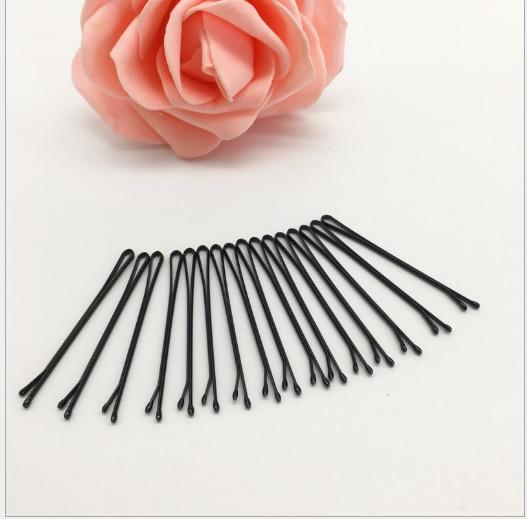 Новое прибытие 10 шт Профессиональный черные клипы объем Шпильки Для женщин Невидимый прямые волосы, Кудрявые, волнистые хвосты Шпилька заколка парикмахер