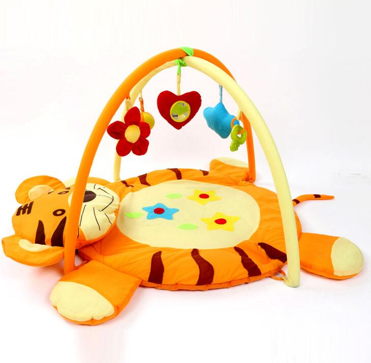 Tiger Baby Play Mat Bebe Educational Toy Game Cotton Crawling Puzzle Mat Cartoon Blanket Carpet toy gift
