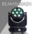 Высокая яркость LED 7X40 RGBW 4в1 LED моющийся луч движущийся головной свет диско LED DJ сценическое освещение