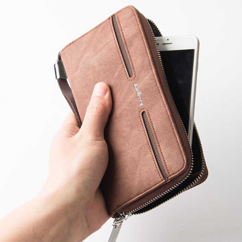efc6095d1655 Baellery бренд бумажник партмоне кашелек для мужчин портмоне мужское  портмане мужской клатч кошельки мужские кожанные purse