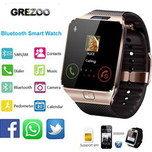 New Bluetooth Smart Watch Smartwatch DZ09 Android watch Phone Call Alarm SIM TF Slot Camera for iosPhone Samsung HUAWEI XIAOMI