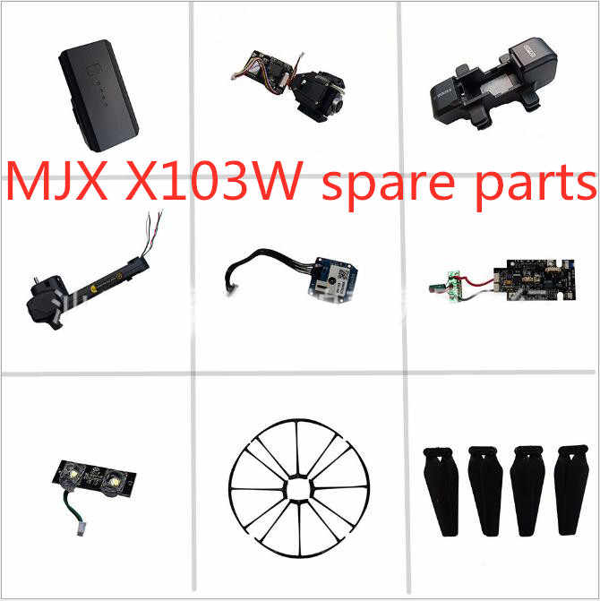 MJX X103W JJRC H73 GPS RC drone Onderdelen blade motor Arm body shell GPS Camera Zoeklicht Afstandsbediening frame etc
