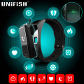 Jackcom b3 banda inteligente todo en uno smart watch monitores de ritmo cardíaco bluetooth smartband gimnasio rastreador pulsera para iphone android