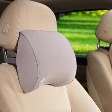 2Pcs New Space Cotton Memory Car Seat Pillow Cushion Car Headrest Neck Headrest Auto Supplies Neck