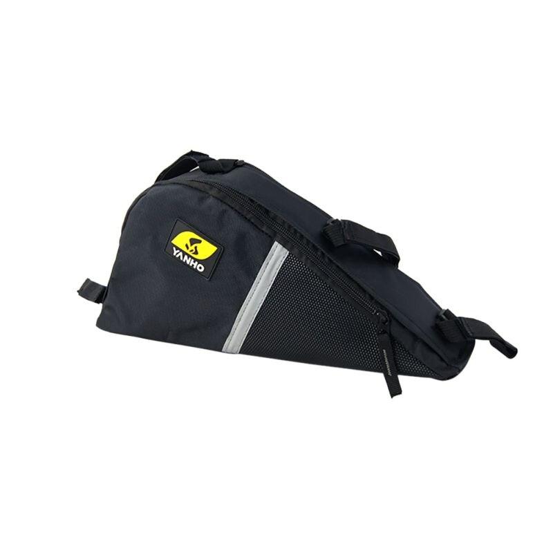 Открытый горный велосипед сумка для горного велосипеда Велоспорт Передняя сумка велосипед треугольник набор инструментов рамка седельная сумка