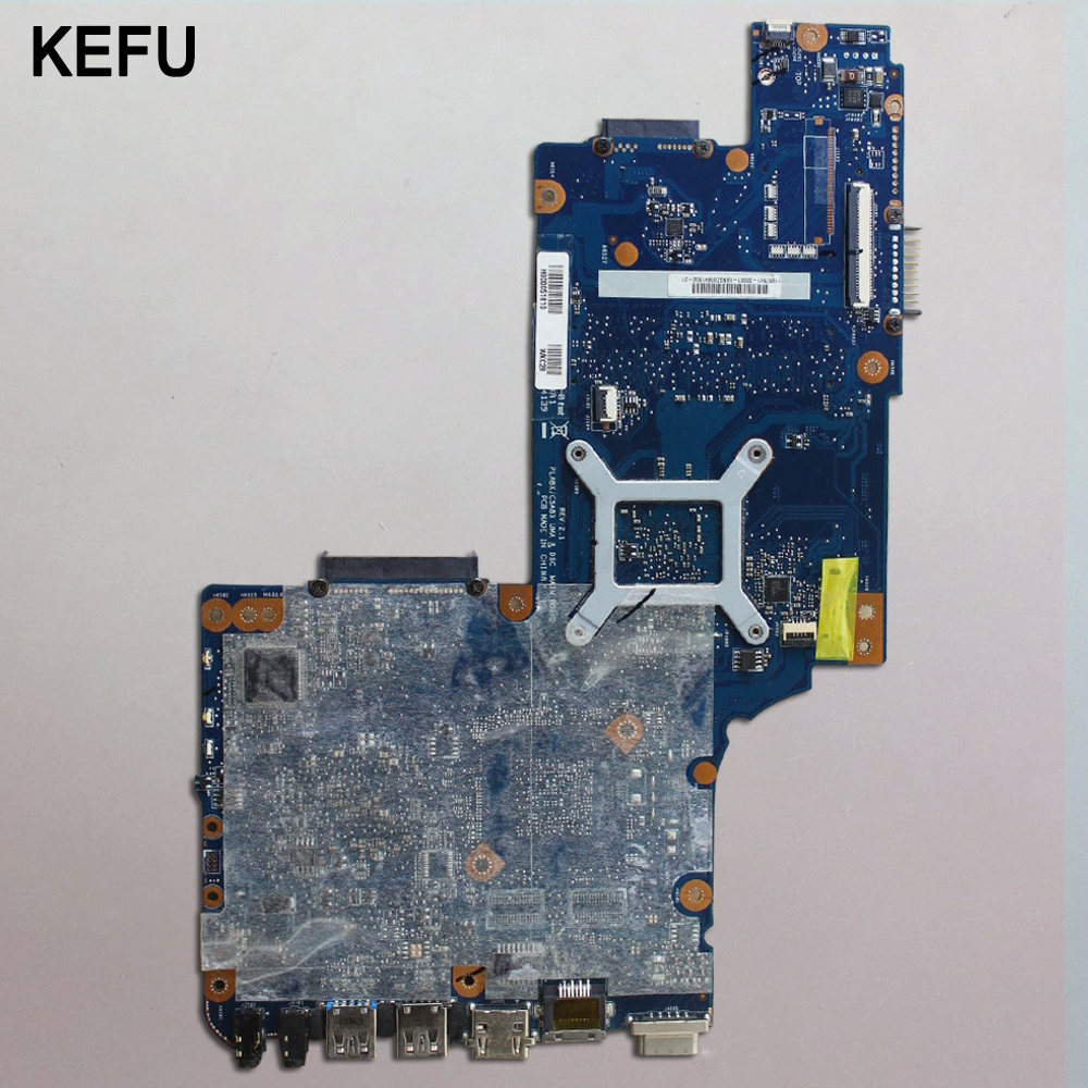 KEFU High quanlity Motherboard For Toshiba Satellite C850D C855D L850D L855D H000053000 with cpu 100% working